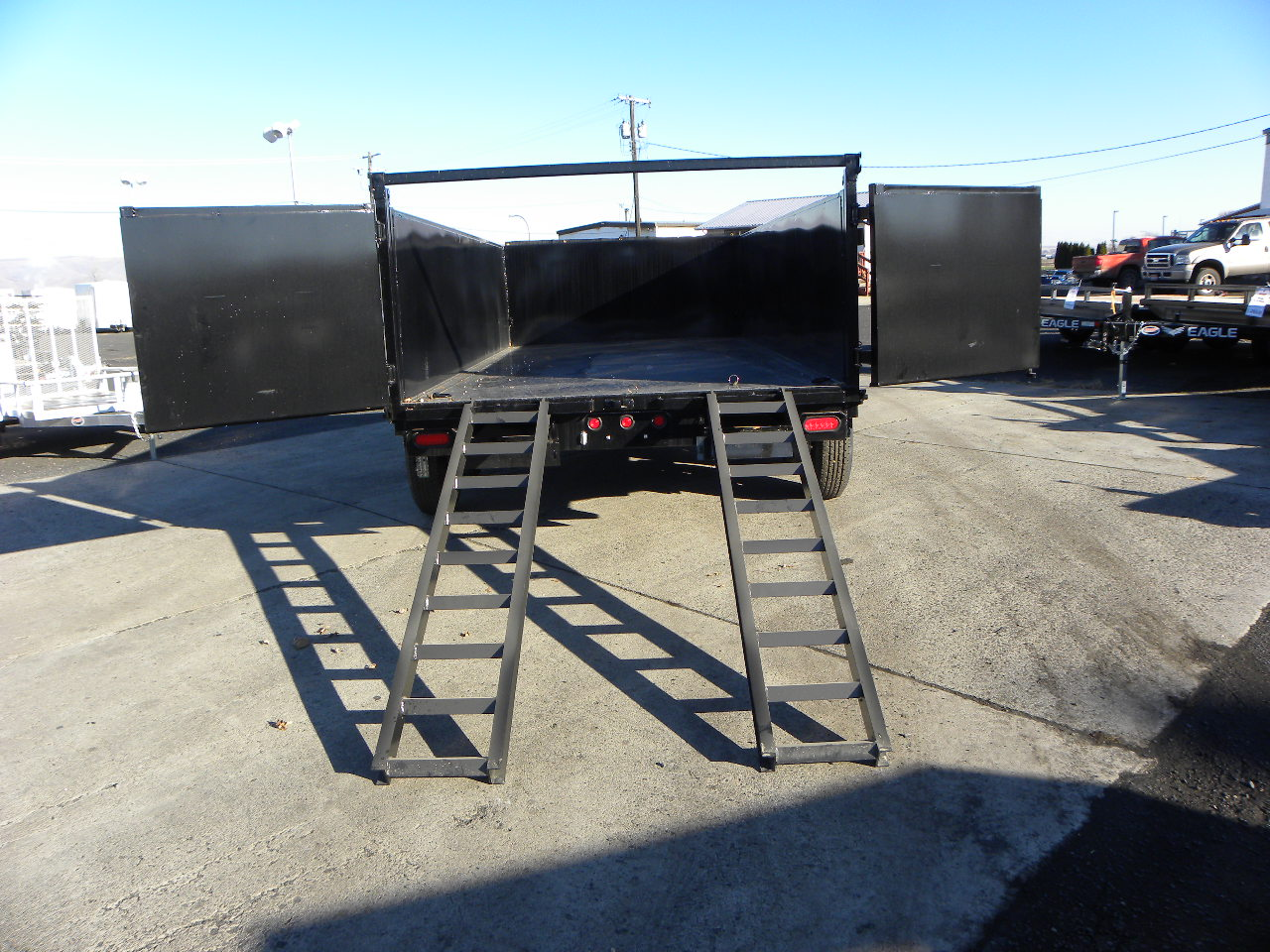 2019 Big Tex 83x 14 Dump Trailer 3 Sides Gateway Materials As Well Eagle Boat Trailers For Sale On Wiring 799500