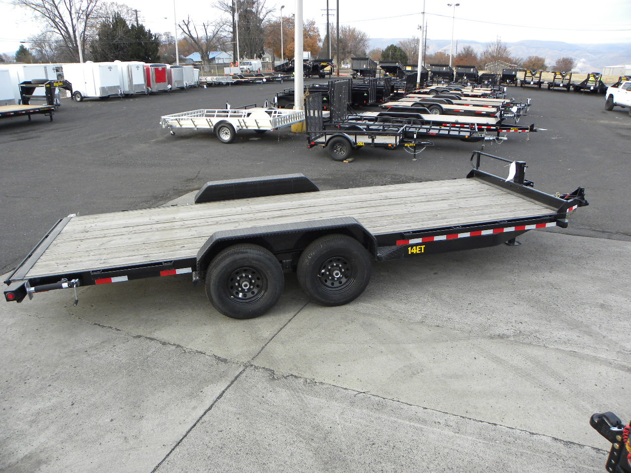 Flat Deck Trailer >> 2020 Big Tex 83 X 20 Flat Deck Trailer 14k