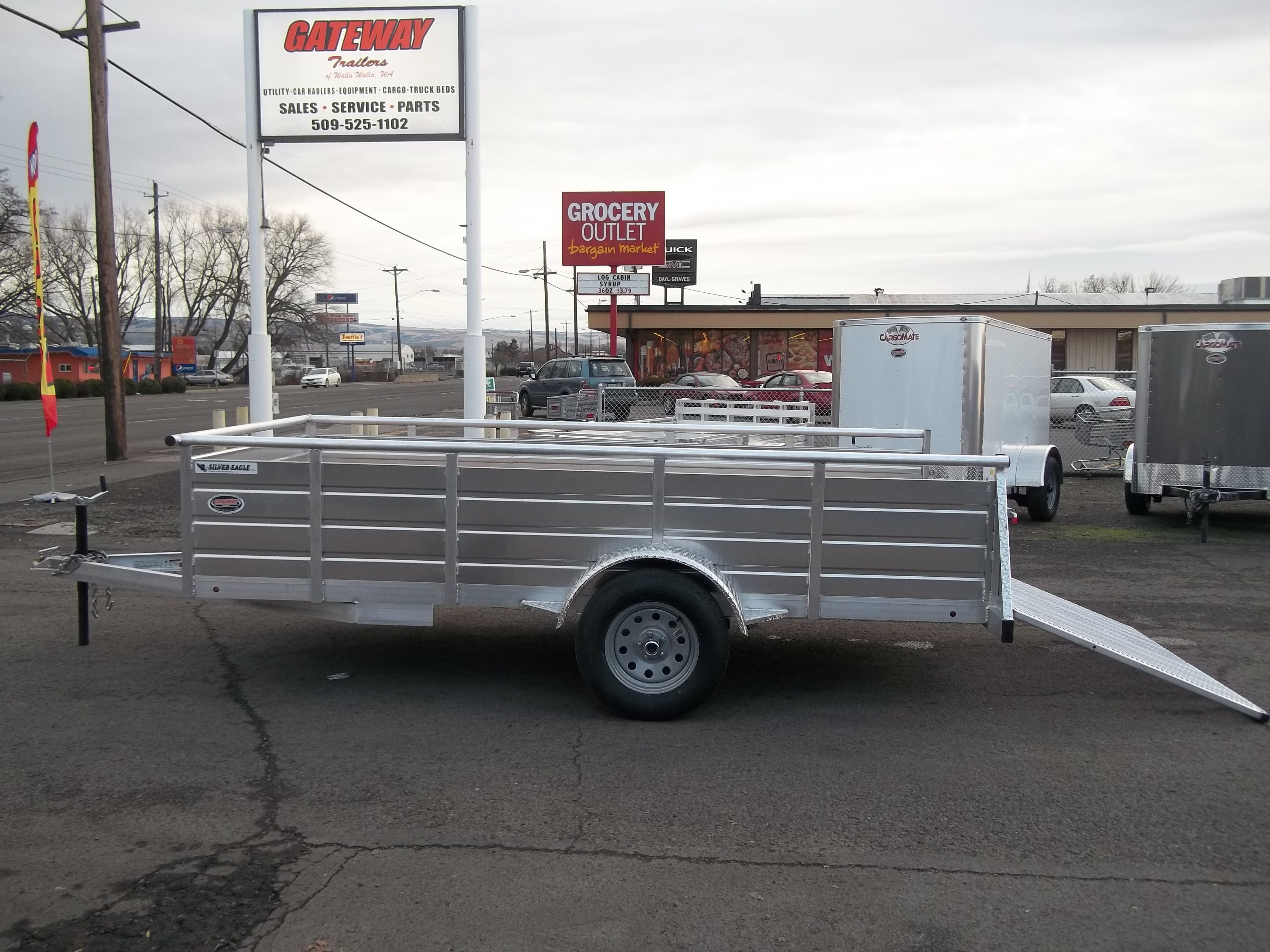 2018 Eagle 6.5\'x 12′ ATV Trailer – Gateway Trailers of Walla Walla